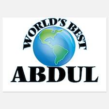 World's Best Abdul Invitations