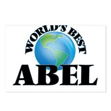 World's Best Abel Postcards (Package of 8)