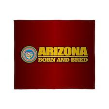 Arizona Born and Bred Throw Blanket