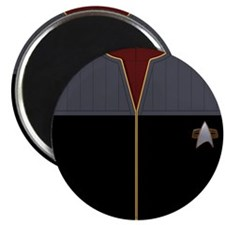 DS9 Red Admiral Uniform Magnet