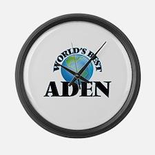 World's Best Aden Large Wall Clock