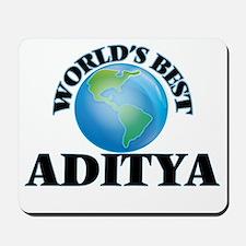 World's Best Aditya Mousepad