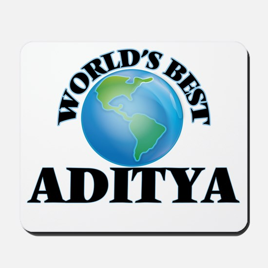World's Best Aditya Mousepad