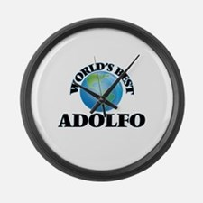 World's Best Adolfo Large Wall Clock