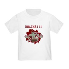 BWAINS!!! Gory zombie baby T-Shirt