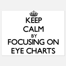 Keep Calm by focusing on EYE CHARTS Invitations
