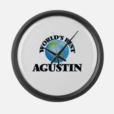 World's Best Agustin Large Wall Clock