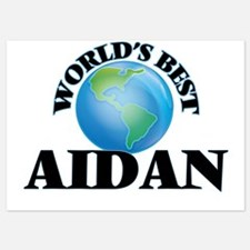 World's Best Aidan Invitations