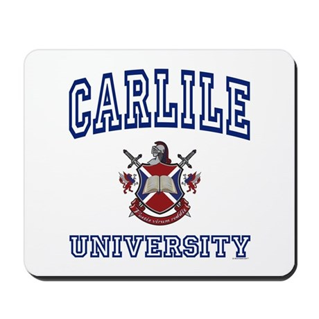 CARLILE University Mousepad