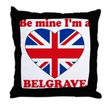 Belgrave, Valentine's Day Throw Pillow