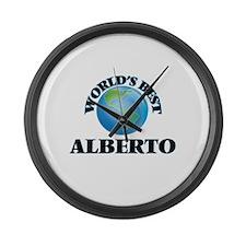 World's Best Alberto Large Wall Clock
