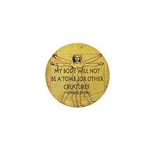 Body Tomb Mini Button