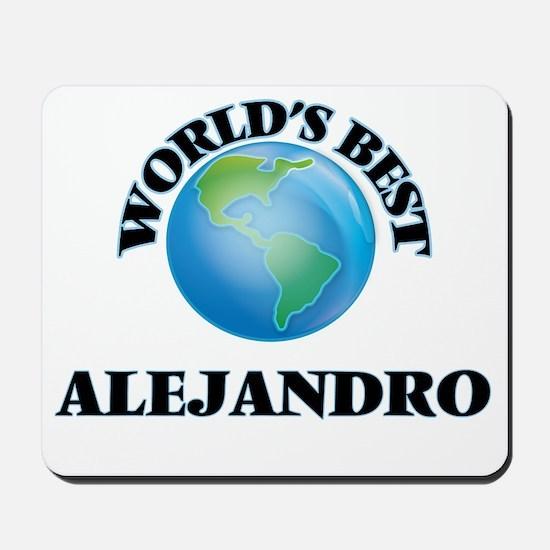 World's Best Alejandro Mousepad