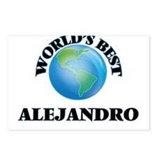 World's Best Alejandro Postcards (Package of 8)