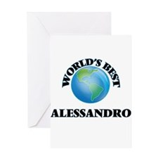 World's Best Alessandro Greeting Cards
