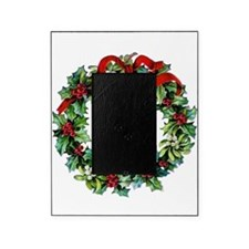 Holly Christmas Wreath Picture Frame