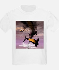 Flying Orcas T-Shirt