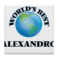 World's Best Alexandro Tile Coaster