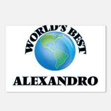 World's Best Alexandro Postcards (Package of 8)