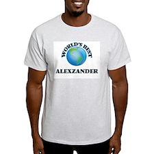 World's Best Alexzander T-Shirt