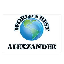 World's Best Alexzander Postcards (Package of 8)