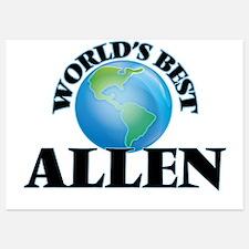 World's Best Allen Invitations