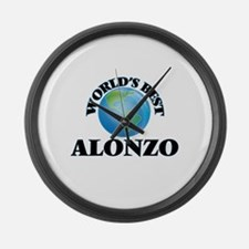 World's Best Alonzo Large Wall Clock