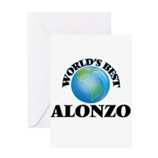 World's Best Alonzo Greeting Cards