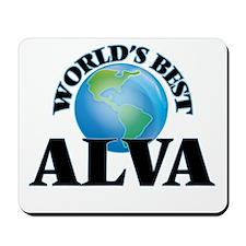 World's Best Alva Mousepad