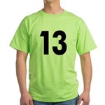 Cursed 13 Green T-Shirt