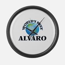 World's Best Alvaro Large Wall Clock