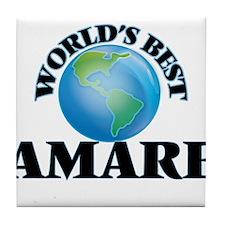 World's Best Amare Tile Coaster