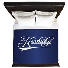 Kentucky State of Mine King Duvet