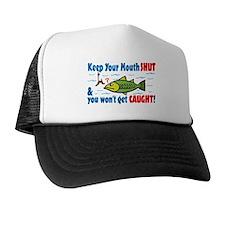 Keep Your Mouth Shut! Trucker Hat