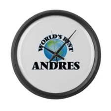 World's Best Andres Large Wall Clock