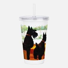 A Scottie Christmas Acrylic Double-wall Tumbler