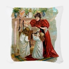 The Night Before Christmas Woven Throw Pillow