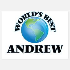 World's Best Andrew Invitations