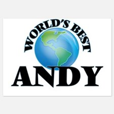 World's Best Andy Invitations