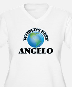 World's Best Angelo Plus Size T-Shirt