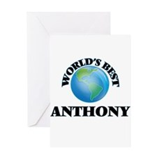 World's Best Anthony Greeting Cards
