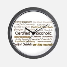 Certified Chocolate Wall Clock