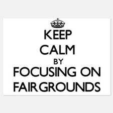 Keep Calm by focusing on Fairgrounds Invitations