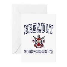 BREAULT University Greeting Cards (Pk of 10)