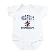 BREAULT University Infant Bodysuit