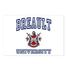 BREAULT University Postcards (Package of 8)