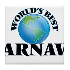 World's Best Arnav Tile Coaster