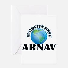World's Best Arnav Greeting Cards
