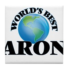 World's Best Aron Tile Coaster