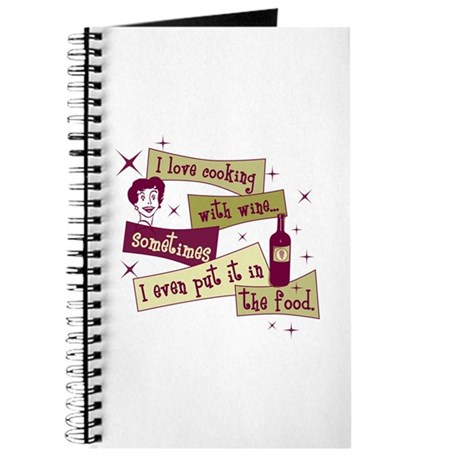 Cooking With Wine Journal